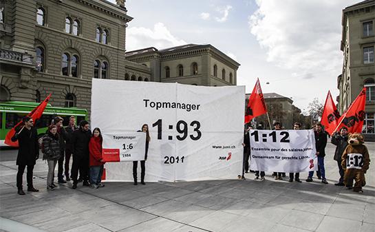 Suïssa celebrarà un referèndum per limitar els sous més alts