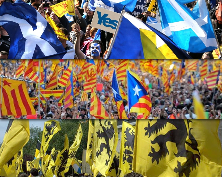 Europa cerca resposta als desafiaments català, escocès i flamenc el 2014