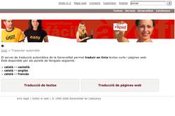 El Portal Gencat Cat Activa Un Traductor Multilingue En Linia Vilaweb