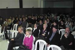 L'acte va comptar amb la participació de públic del municipi i de la comarca . (foto: vilaweb mollerussa)