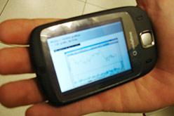 Apunts en format videollibre en un telèfon mòbil.