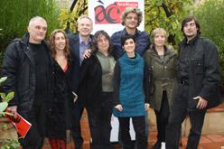 Alguns dels membres de l'Acadèmia del Cinema Català.