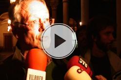 Vídeo de la tancada de professors a la UB.