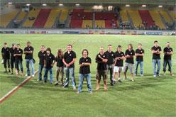 La selecció a Perpinyà al juny, després d'un amistós amb el Marroc (foto del <a href=