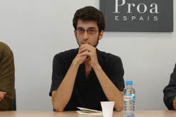 Marc Rovira, guanyador del premi
