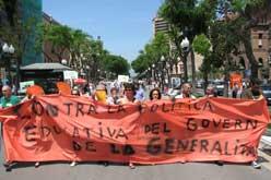 Concentració a Tarragona.