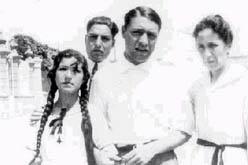 Pla amb la seva família a Palafrugell