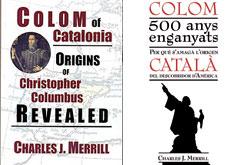 Les cobertes del llibre en anglès i en català