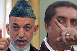 Karzai i Abdulà.