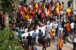 Concentració de falangistes el 13 de setembre a Arenys de Munt.