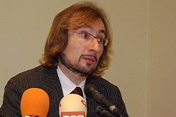 Daniel Condeminas, degà del Col·legi Professional de l'Audiovisual.