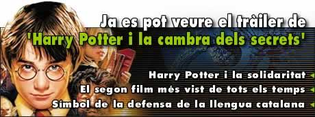 Ja es pot veure el tràiler de 'Harry Potter i la cambra secreta'