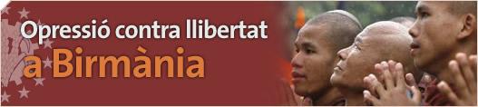 Opressi� contra llibertat a Birm�nia