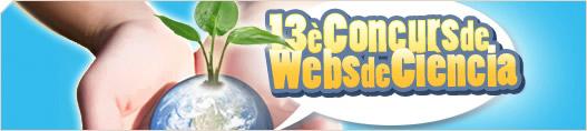 XIII Concurs de Webs de Ciència