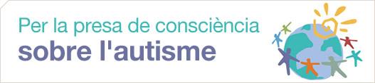 Per la presa de consciència sobre l'autisme