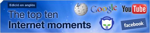 The top ten Internet moments