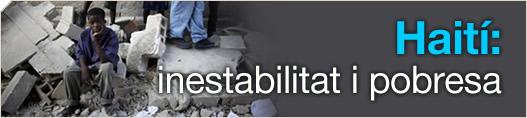 Haití: inestabilitat i pobresa