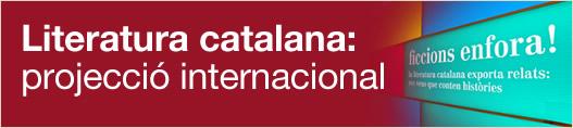 Literatura catalana: projecció internacional