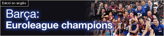 Barça: Euroleague champions