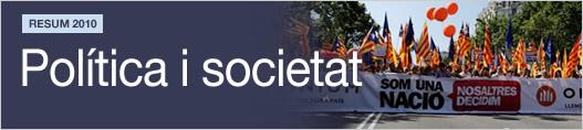Resum 2010. Política i societat