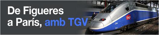 De Figueres a París, amb TGV