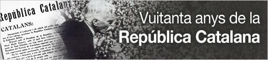 Vuitanta anys de la República Catalana