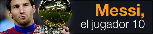 Messi, el jugador 10