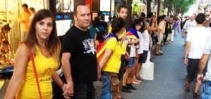 La Via Catalana ja és plena de Reus a la Jonquera