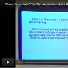 El v�deo in�dit de Steve Jobs presentant en p�blic el Macintosh