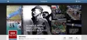 Les not�cies de la BBC, per Instagram
