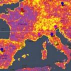 Barcelona, en el mapa dels indrets m�s fotografiats