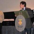 L'escriptor Mart� Dom�nguez, guardonat amb el Premi Llegir