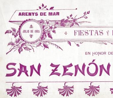 Els programes de Sant Zenon digitalitzats i accessibles per Internet