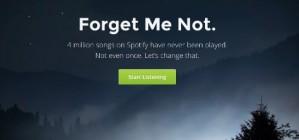 Forgotify descobreix les can�ons menys populars de Spotify