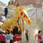 Gr�cia celebrates its festivities