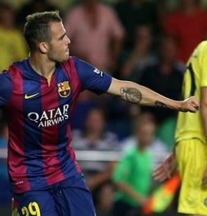 Villarreal v FC Barcelona 0-1: Sandro gives Bar�a the points at El Madrigal