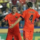 Llevant UD v FC Barcelona: Bar�a's five goal feast maintains 100% record