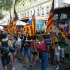 Dos autobusos des de la Plana per a anar a la manifestació de l'Onze de setembre