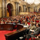 Catalan Parliament approved law allowing independence vote