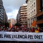 El Pa�s Valenci� ahir pel dret de decidir de catalans... i valencians.