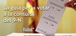 Guia per a votar a la consulta del 9-N
