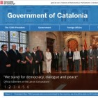 Catalan government launches new webpage in English