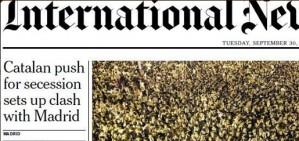 L'impacte de la suspensi� del 9-N en la premsa internacional