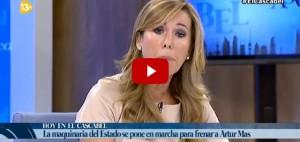 Les greus amenaces de S�nchez Camacho a 13TV