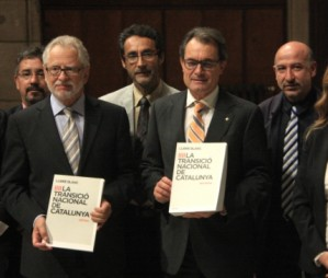 Five questions addressed in White Paper on Catalonia's National Transition