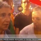 L'entrevista sota la pluja a Muriel Casals i Carme Forcadell