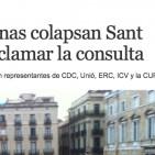 La premsa espanyola admet la magnitud de les concentracions pel 9-N
