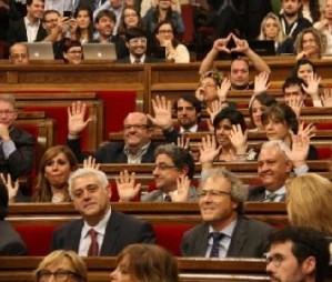 Primera desobedi�ncia del parlament al Tribunal Constitucional
