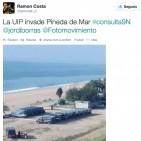 Primeres fotos de les unitats d'antiavalots que el govern espanyol ha enviat a Catalunya