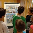 Els joves lectors de la Biblioteca Comarcal s'endinsen en el c�mic